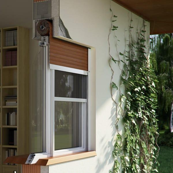 okno z podziałem